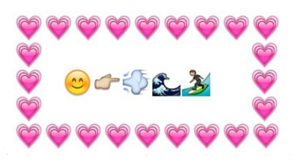 Ganz Viel 3 Ohne Worte Die 11 Sussesten Emoji Messages Zum