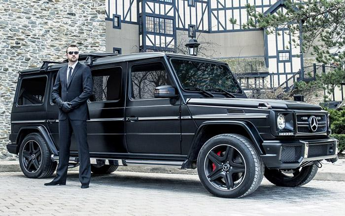 This armored car has a satellite TV system, fridge, and more, for $1-million. http://t.co/kRsvAripnW #Mercedes http://t.co/sidfivppZO