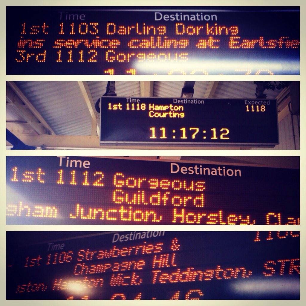 Even @SW_Trains are feeling the #Love #SWTValentine #Romance #London http://t.co/wn4XSPcYTB
