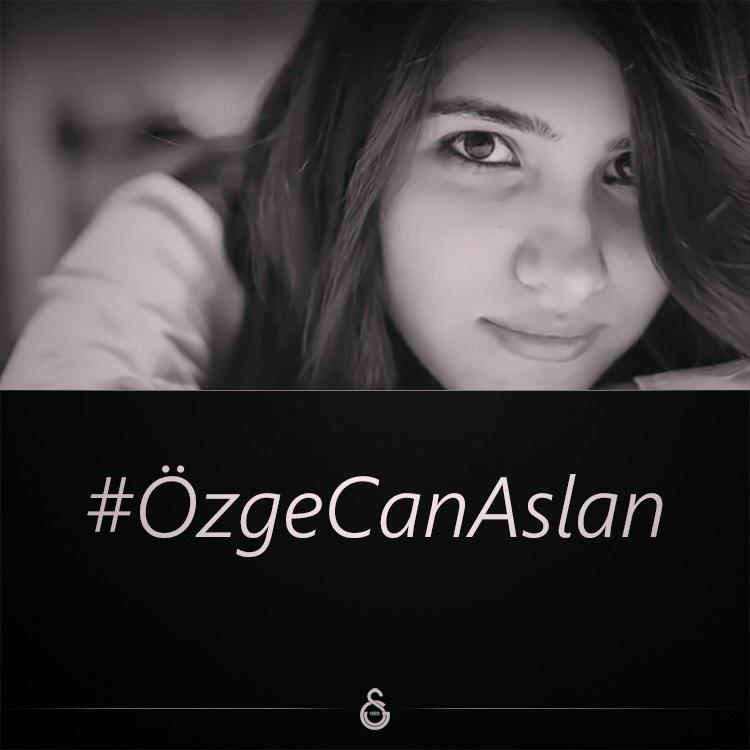 Galatasaray SK (@GalatasaraySK): Acın kalbimizde #ÖzgeCanAslan http://t.co/TPlpfhmY9C