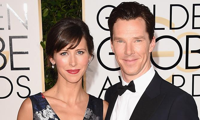 Benedict Cumberbatch will reportedly wed Sophie Hunter today! ValentinesDay...