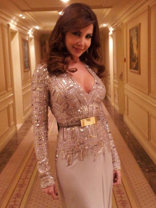 احدث صورة  نانسى عجرم  2013 بفستان جميل 2014 BA1jrRrCUAAIv1f.jpg:large