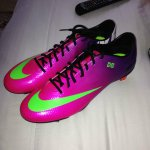 Thanks @NikeUK for my new boots #Bemercurial
