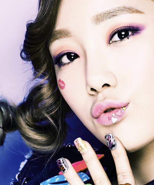Taeyeon Kiss me Baby g Taeyeon Casio 'kiss me