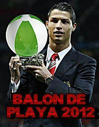 Messi gana el Balón de Oro 2012 y es el único en ganar cuatro consecutivos. Pero Cristiano tiene un premio insuperable http://t.co/w7h4JUQ6