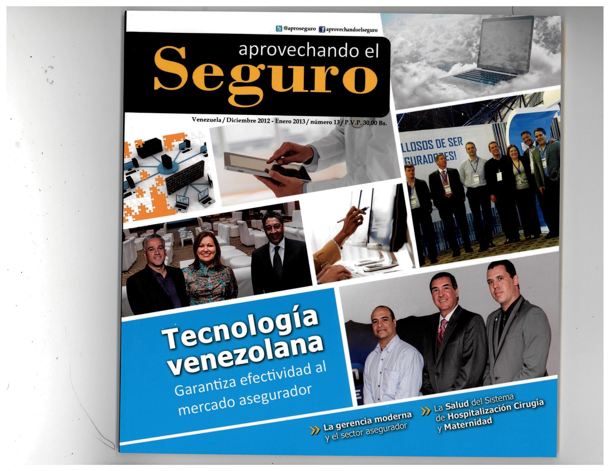 Este mes conoce más de H-Connexum tecnología venezolana en @aproSeguro. http://t.co/fyAq4aDL
