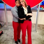 RT @briantong: #2013CES Red Pants Showmance w/ @mollywood #CNET #BuzzOutLoud http://t.co/7WROA5i2