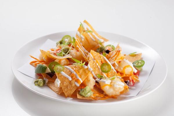 """RT @chefhari: Here is one naacho plate I would dig on @chef_morimoto: Try our #shrimp nachos at @TribecaCanvas http://t.co/pnKpnU09"""""""