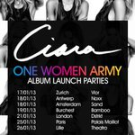C-SQUAD! Party with Ciara in Europe! The OWA World Movement has officially begun! See Dates Below!  -Team Ciara-