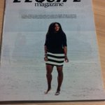 RT @carole_bouchard: Serena Williams covers L'Equipe Magazine on this saturday.