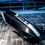 Check out the sleek new bobsled designed by BMW. #TeamUSA debuts it today. Thoughts on @USBSF's new ride?