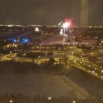 Fireworks out my window!!