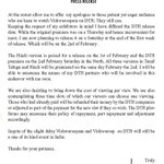 RT @onlynikil: Ulaganayagan's Official Statement on DTH... http://t.co/2HWiz2tN
