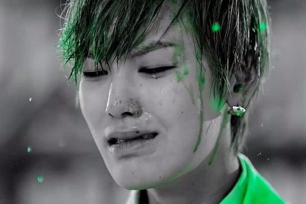 Zelo Rain Sound Gif WHITE at Rain Sound MV