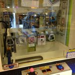 Frys now has crane-game type machines with IPads, iPods, Galaxy Tabs & Kindles.