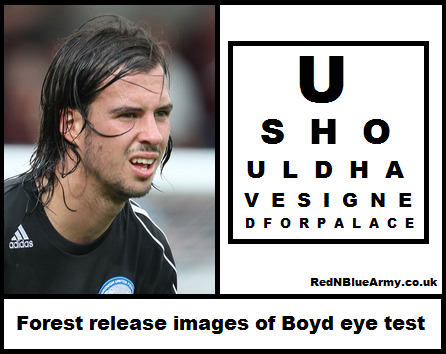 Nottingham Forest get pilloried after not signing Poshs George Boyd due to an eye test