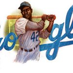 RT @GoogleDoodles: We tip our caps to baseball legend and civil rights activist, #JackieRobinson on his 94th birthday.