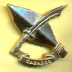 Esta es la insignia de los CAZADORES DEL EJERCITO que echaron a Fidel Castro de Venezuela en los 60. http://t.co/c47wNTeXKs