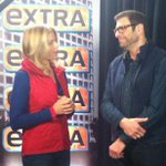 RT @RunningFromCrzy: Nice! @MarielHemingway speaking with @JerryPenacoli from #ExtraTV #RunningFromCrazy @sundancefest