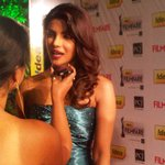 """@filmfare: The sexy Priyanka Chopra graces the #FilmfareAwards red carpet with her panache http://t.co/C9tPVM0t"" with hamari @rjprackriti"