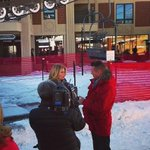 Interview w @accesshollywood at @sundancefest talking about @runningfromcrzy #runningfromcrazy xo