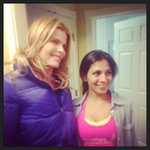 YES!!!! RT @priya_pandya: @MarielHemingway here we are :)