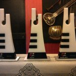 A pic of the 3 Maa Music Awards for U guys..!! The award looks so Good..!! Thx to Maa TV.!!!