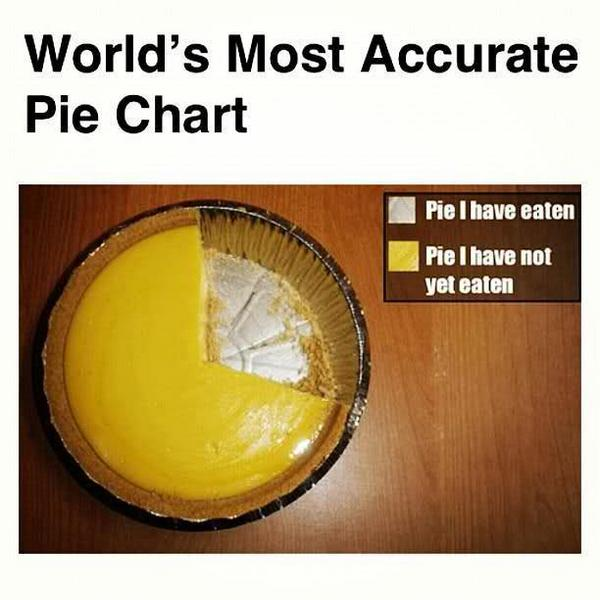 Evan Conway (@EvanConway): World's most accurate pie chart! http://t.co/OdMeNzm4