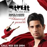 Dance like a Deewana, move like a Parwana this season with @S1dharthM only at @Strut_Dance class, starting 30TH JANUARY