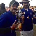 Tats the trophy..feels gr8..thanks RR