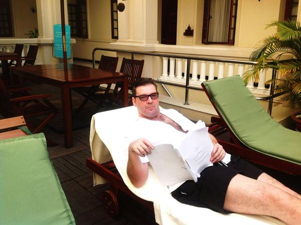 Brendan Coyle (@brendancoyle99): Working my arse of in Saigon..congrats to my Downton brothers and sisters #nta's http://t.co/iHd8QNxR