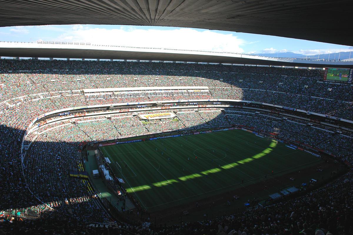 Estadio Azteca Capacidad Estadio Azteca en m Xico Capacidad Para 105 064 Espectadores