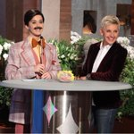 WHAT THE HECK IS GOING ON HERE?? Tune in to @TheEllenShow tomorrow to find out!
