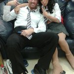 RT @bethtweddlenews: Me and @gareththomas14 chilling out!
