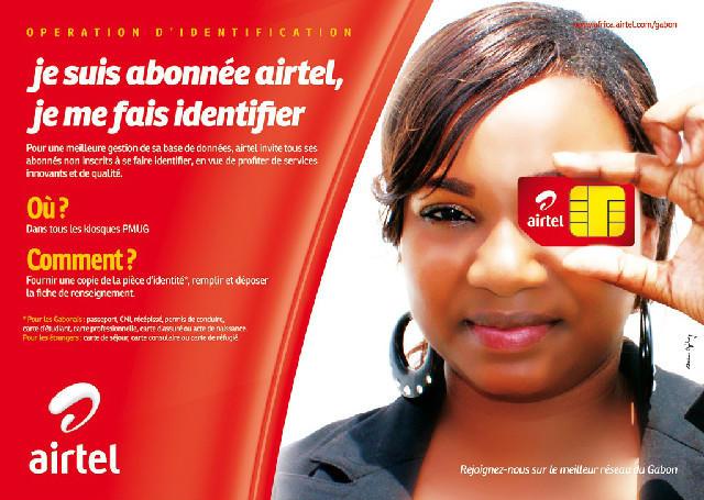 Bonsoir les amis. airtel Gabon lance une grande campagne d'identification de ses abonnés . Identifiez-Vous :) http://t.co/4FQBslrv