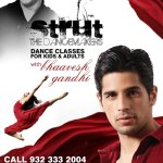 RT @Strut_Dance: Call +91 9323332004 and secure your seat NOW!!