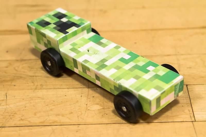 minecraft pinewood derby car designs car tuning
