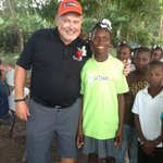 My new best friends in Haiti. Go Daddy, http://t.co/a5vjnOTR & http://t.co/SgNmkwCE helping out there.