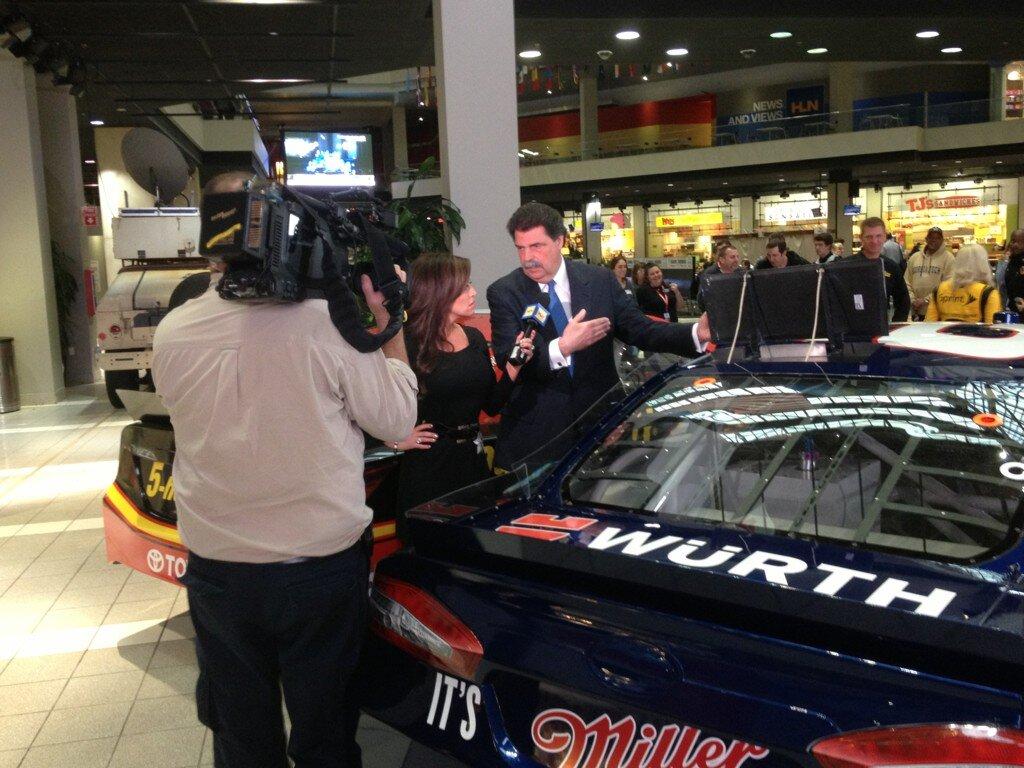 NASCAR's Twitter Photo