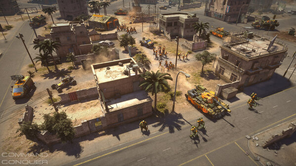 Enjoy the first HD ingame screenshot of the new Command & Conquer, featuring the GLA! #CNC #Screenshot #GLA http://t.co/rkdnDRXZ