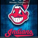 Spring Training State of Mind. Had to change the lock screen. #eyesontheprize