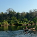 A boatman in the god's own country.. http://t.co/h2ZTOfGl