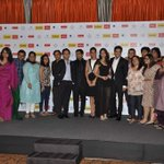 The fab cast with the filmfare team