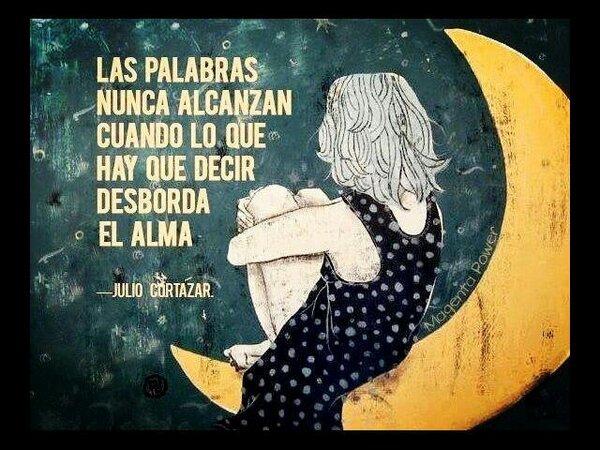RT @HayQueSaberlo: Magnífica frase del escritor Julio Cortázar. http://t.co/jp9WxGFE