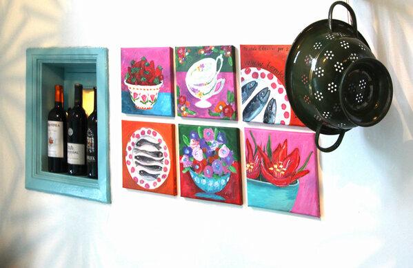 Blauwe Keuken Raalte : Expo van m'n schilderijtjes in de Blauwe Keuken in Raalte. Voorproefje
