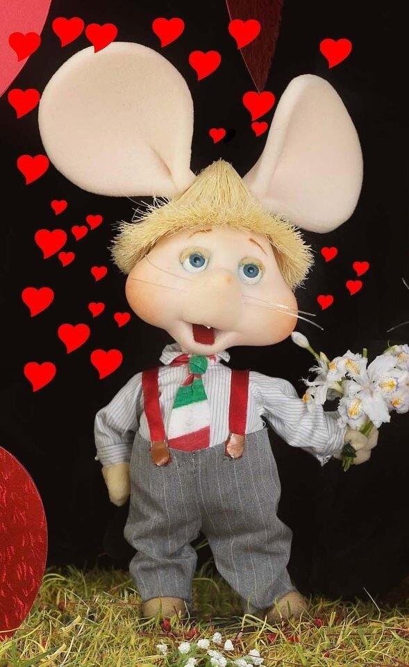 もうすぐバレンタイン、ロージーに大好き♡って伝えなきゃ♪ http://t.co/KtKkZxJL
