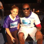 Posing w/the opposition @shawnjohnson b4 the @DIRECTV #beachbowl http://t.co/csBwpbsm