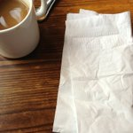 Time to play guess the napkin! http://t.co/OAZ32vLZ