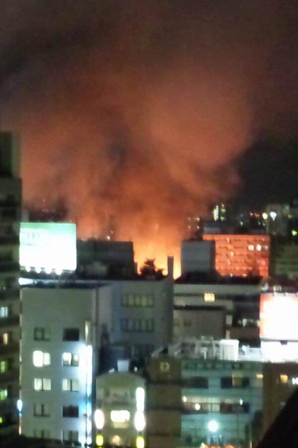 【速報】川越で大規模火災が同時発生中