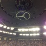 Finally in the mercedes stadium for @sb47 surrounded by fans from both sides. Full stadium of about 75000 http://t.co/JBYs5O7F